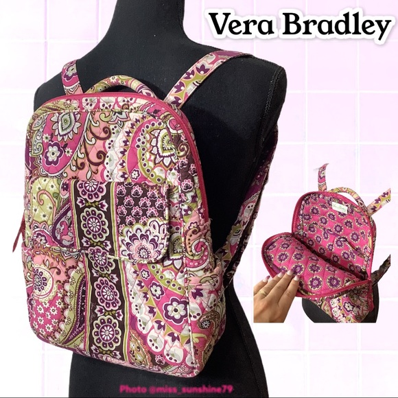 Vera Bradley - 😎 around town backpack pink purple